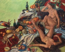 Allegory of Sleep; oil on canvas, 255x200cm 1987 - Version 2 – Version 3.jpg